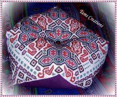 Biscornus - full size cushion