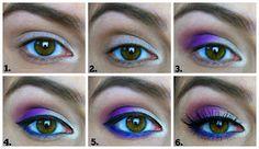 Beauty Broadcast: #Electric Challenge Day 5: Purple Haze