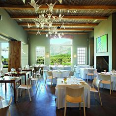 Catharinas Restaurant Steenberg Wine Farm, Tokai, Cape Town