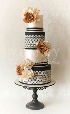 Ac Cake Decorating Hornsby Nsw : 1000+ images about Cake #3 Black/White with Splash of ...
