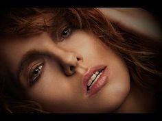 Ретушь женского портрета в фотошопе - YouTube