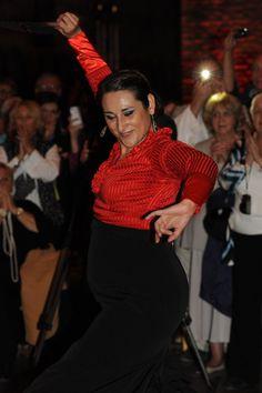 Flamenco dancing in Barcelona.
