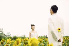 Sunflower *夏の前撮り |*elle pupa blog*