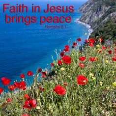 Jesus brings peace