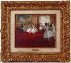 artnet Galleries: Le Foyer de la Danse by Jean Louis Marcel Cosson from Alex Gallery