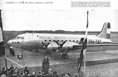 Dazzling Vintage Aircraft: The Major Attractions Of Air Festivals Vintage Props, Vintage Cars, Vintage Ideas, Vintage Designs, Douglas Dc 4, Airline Alliance, Royal Dutch, Air Festival, Vintage Airplanes
