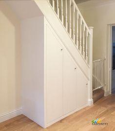 Staircase storage, stair storage, built in storage, shoe storage, storage i Under Stairs Cupboard Storage, Staircase Storage, Hallway Storage, Small Bathroom Storage, Stair Storage, Built In Storage, Stair Drawers, Shoe Storage, Bedroom Cupboard Designs