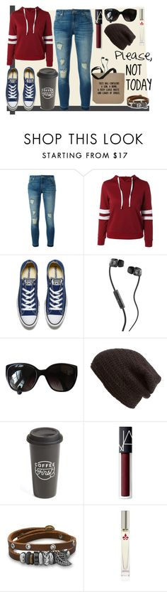"""""""Today, I Don't Care"""" by mishik ❤ liked on Polyvore featuring MICHAEL Michael Kors, Converse, Skullcandy, Chanel, King & Fifth Supply Co., The Created Co., NARS Cosmetics, BillyTheTree and Lavanila"""