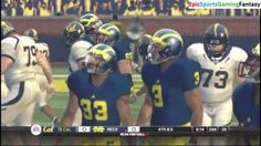 The California Golden Bears VS The Michigan Wolverines In A NCAA Football 10 Football Match This video showcases Gameplay of The California Golden Bears VS The Michigan Wolverines In A NCAA Football 10 Football Match