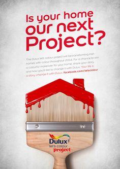 Dulux / Let's Colour Project - Adrian O'Sullivan Art Direction & Design