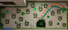 St. Patrick's Day Leprechaun Bulletin Board