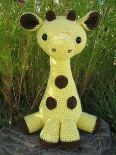 I love this amigurami giraffe.  It's fairly easy to crochet and super adorable.