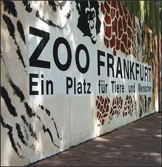 Frankfurt -- Germany, yes, been here 2 separate times. Had to go to the zoo, my obsession while i travel, zoos haha.
