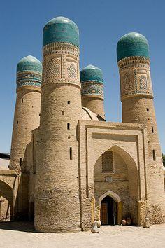 thearabesque:  Char Minar (Chor Minor), Bukhara (Buxoro, Бухоро, بُخارا), Uzbekistan (O'zbekiston, Ўзбекистон) (by Loïc BROHARD)