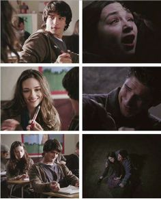 Allison Argent..first and last moments with Scott-Teen Wolf