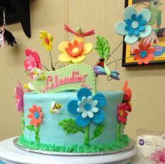 Wilton Course 2: Flowers & Cake Desing!!!