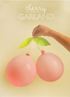 Cherry ballon