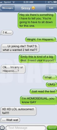 Autocorrect fail - Coming out - http://jokideo.com/autocorrect-fail-coming-out/