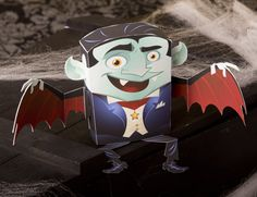 Dracula Paper Craft