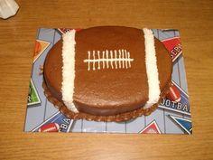 Football Smash Cake- 1st Birthday ideas