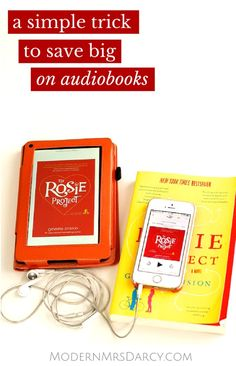 A simple trick to save big on audiobooks. I am kicking myself for not figuring out how to use this service sooner!