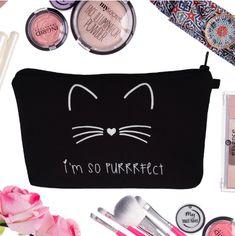 Makeup Bag Cosmetic Items, Cosmetic Bag, Big Makeup Bags, Gold Backpacks, Makeup Items, Color Guard, Women Brands, Makeup Yourself, Makeup Cosmetics