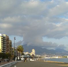 Clouds over Fuengirola, Spain