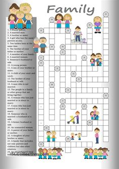 Crossword: Family                                                                                                                                                                                 Más