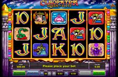 Novomatic presents an amazing Cleopatra video slot, with 5 reels and 20 paylines. Amazing images with Ancient Egypt theme and interesting bonus features will make your play fun and pleasant.