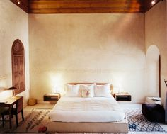 Hotel choice) Riad El Fenn, a hip boutique hotel in Marrakech Decor, Beautiful Bedrooms, Home, Bedroom Photos, Bed, Moroccan Bedroom, Home And Living, Bed Photos, Beautiful Bedroom Decor