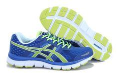 Asics Gel Quik 33 Men Running Shoes Blue Green