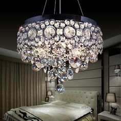 Item Type: ChandeliersBrand Name: NEW LIFE LIGHTINGShade Type: CrystalShade Direction: DownNumber of Lights: >7Features: lustre crystal chandelierBody Material: CrystalLight Source: LED BulbsWarranty: 1 yearSwitch Type: Touch On/Off SwitchWattage: 3-5WCertification: CCCFinish: Polished ChromeStyle: ModernBase Type: E27Is Dimmable: NoVoltage: 220VPower Source: ACIs Bulbs Included: NoInstallation Type: Semiflush MountModel Number: E-3982