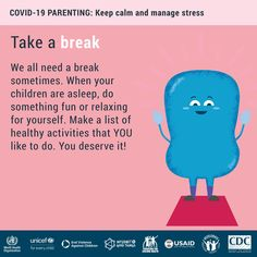 Crowded and messy home? Back-to-back online meetings? Take a deep breath. Take a break. Take care of yourself so you can take care of your children virus Keep calm and manage stress International Health, Encouragement, Teenager, Stress Management, Take Care Of Yourself, Parenting Hacks, Keep Calm, How To Stay Healthy, Something To Do
