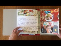 Vellum journaling over the picture. Attached with washi tape.