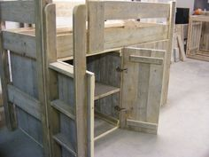 Bed with storage Bed Storage, Tall Cabinet Storage, Diy For Kids, Sweet Home, Room, Furniture, Beds, Home Decor, Pallet