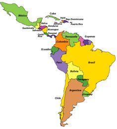 @recursosele: El origen histórico de los nombres de cada país Latinoamericano