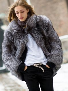 Faux Fur: How to find the best quality! via @WhoWhatWear