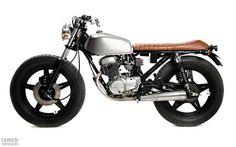 ϟ Hell Kustom ϟ: Honda CB125 Twin 1980 By Comete Motorcycles