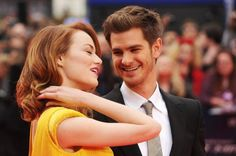 PHOTOS: Andrew Garfield & Emma Stone at the @Matty Chuah Amazing Spider-Man 2 London premiere