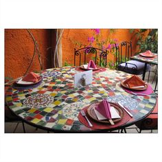Tiled table, thinking of going green and reusing the table frame with a…