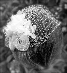 Trash To Couture: DIY Birdcage Veil