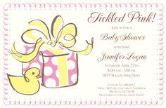Girl Ducky Invitation | Zurianas Elegant Occasions
