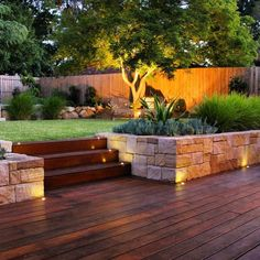 32 Admirable Modern Garden Landscaping Ideas - Creating a truly modern garden lighting design can add so much to your home. All types of properties can benefit from a garden lighting makeover, from. Back Garden Design, Modern Garden Design, Vegetable Garden Design, Landscape Design, Backyard Ideas For Small Yards, Backyard Patio Designs, Small Backyard Landscaping, Landscaping Ideas, Steep Gardens