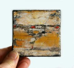 Original Abstract Painting Mixed Media Art by dianamulder on Etsy, $25.00