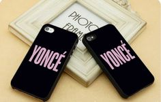 Yoncé Black  FIT for iP4iP5 Samsung by CasebyMarsha on Etsy, $14.00