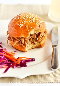 gingerbeer pulled pork