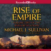 Best-selling author Michael J. Sullivan's mesmerizing Riyria Revelations series has found a welcome home with fans of magic, clashing swords, and daring heroes. This second volume finds Royce and Hadrian on a quest to enlist the southern Nationalists to aid the ever-weakening kingdom of Melengar. Royce suspects an ancient wizard is manipulating them all, but to find the truth he'll have to decipher Hadrian's past—a past Hadrian wants to keep secret.