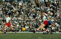 Brazil 3 Czechoslovakia 1 in 1962 in Santiago. Josef Masopust puts the Czechs into the lead on 15 minutes in the World Cup Final.