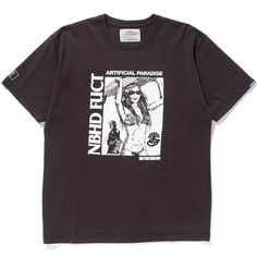 Neighborhood x Fuct SSDD Artificial Paradise Tee 2 Black