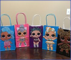 LOL Surprise Dolls Candy Bags